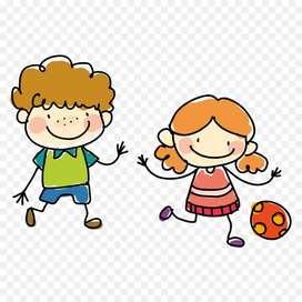 Cuido niños ambiente familiar