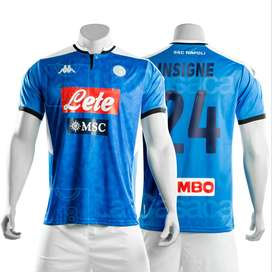 Camiseta Original Napoli Italia 19-20 lorenzo insigne Dries Mertens Kappa futbol