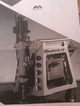 Proyectadora de cemento
