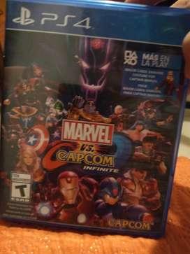 Intercambio Marvel vs Capcom infinite está de 10