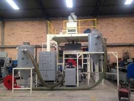planta de recuperacion materiales plasticos