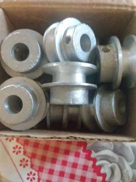 Poleas de aluminio