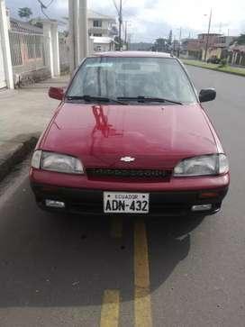 Se vende Chevrolet Forza, año 2001 (a inyección)