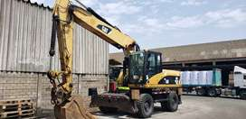 Excavadora de Llantas Caterpillar M322D importada