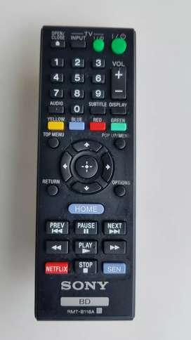 control sony blu-ray rmt-b118a