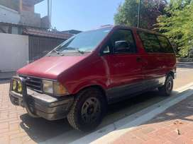 Flamante Mini Van Ford Aerostar