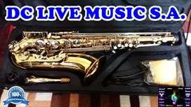 extraordinario saxo tenor holtons