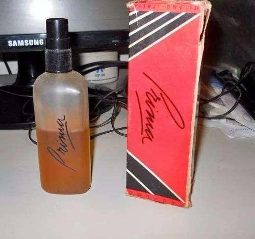 Antiguo Frasco De Perfume Con Contenido Prima Italia 0