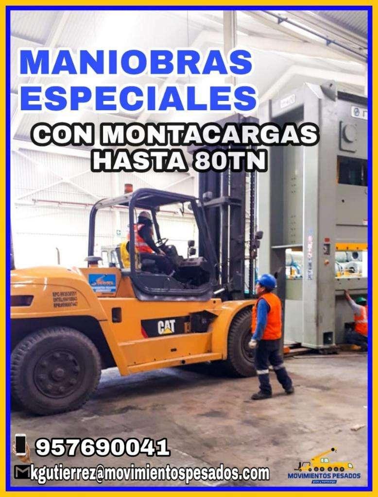 Alquiler de Montacargas de 2.5 a 17 Tn en Lima 0
