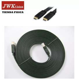 Cable Hdmi 10 Metros 1.4v Plano Full Hd 1080p Jwk Vision