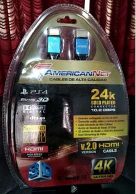 Cable extensor HDMI 4K HDR - 10 metros