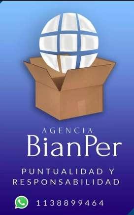 """Servicio de peones para carga y descarga de contenedores """" BianPer"""""""