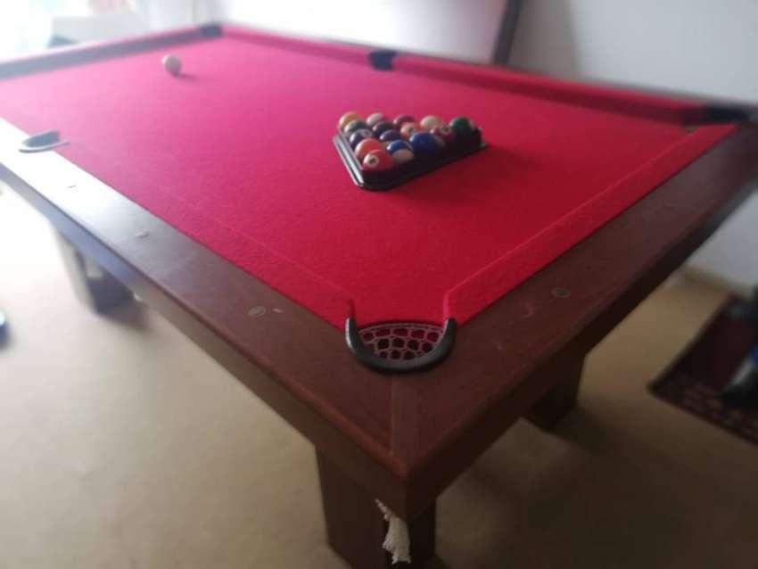 Vendo mesa de pool con tapa 0