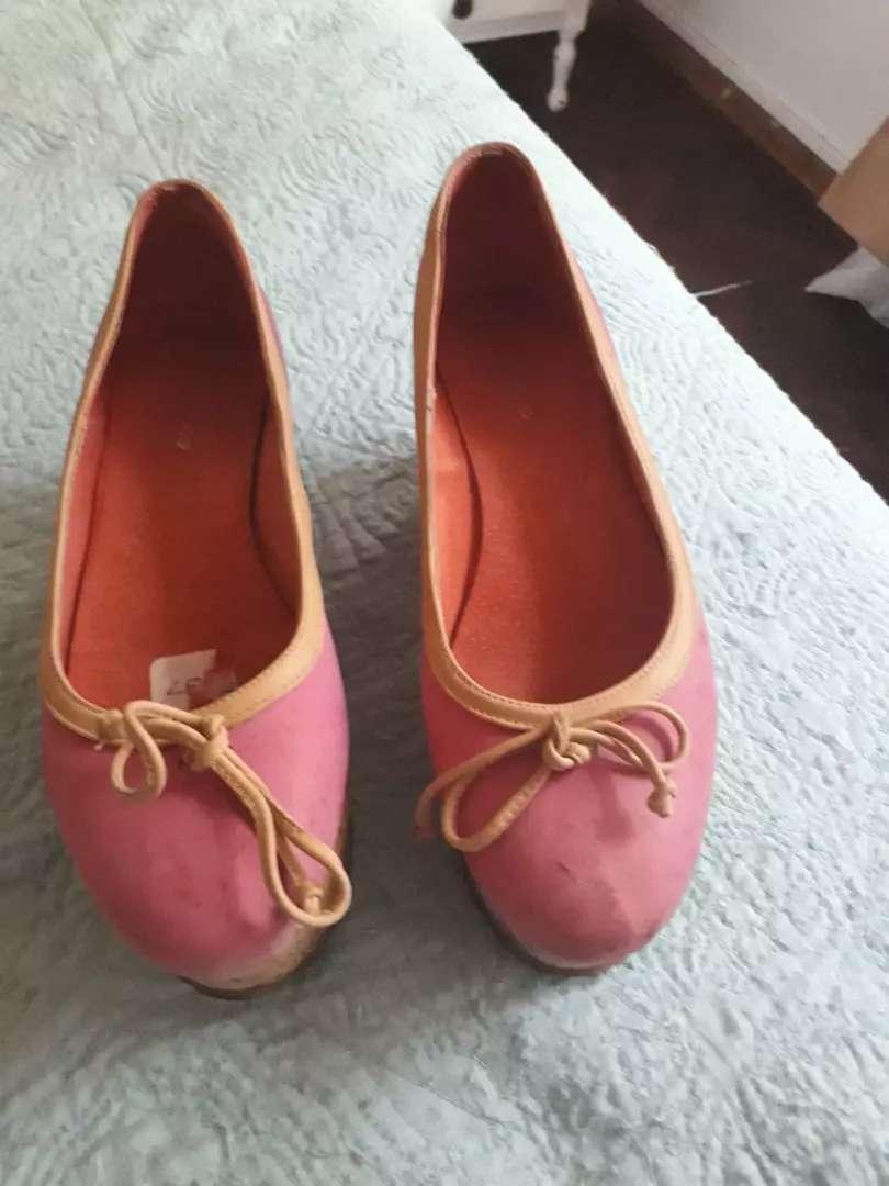 Zapatos rosas 0
