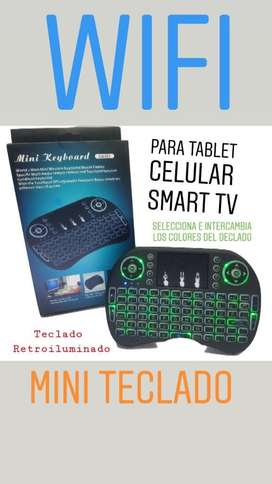 Mini Teclado Led Retroiluminado Smart