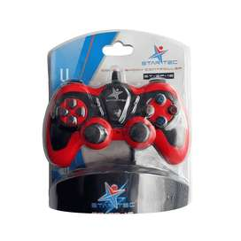 Game Pad Star Tec St-Gp-16 Usb Rojo