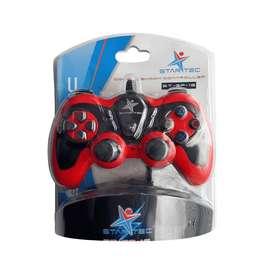 Game Pad Star Tec St-Gp-16 Usb Rojo