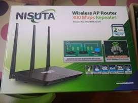 Router Nisuta- usado- ModNS-WIR303N