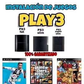 Juegos play3 incorporados