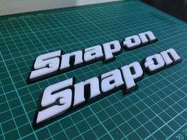 Emblema Snap-on 3D