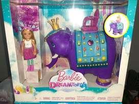 Barbie Dreamtopia Chelsea Y Rey Elefante