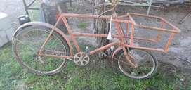 Bicicleta tipo heladero