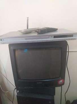 Vento tv 14 con dvd y controles