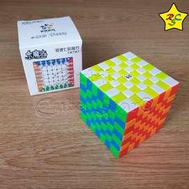 Little 7x7 Magnetico Cubo Rubik Yuxin Profesional SpeedCuabe