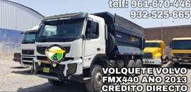 VOLQUETE VOLVO FMX440 2013