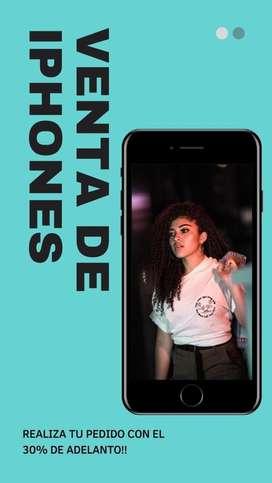 Catalogo de los iphones que tenemos