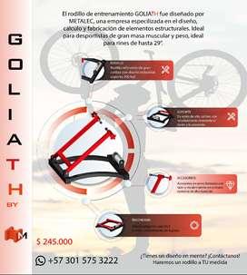 Rodillo para bicicletra de transmisión directa