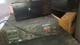 Potencia Audio profesional para dj o bandas completo luzes zkx mt 2400