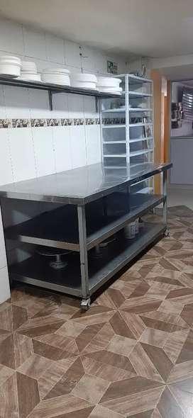 Mesa   para panadería