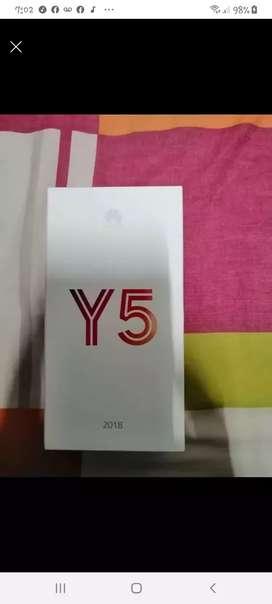 Vendo celular y5 nuevo