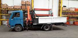 Camion con  Grua Agrale Dynamic con Grua Ferioli 7 mts/400 kgs