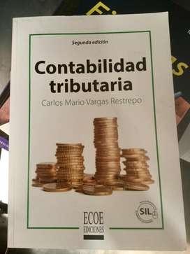 """Libro Usado - """" Contabilidad tributaria' Segunda Edicion"""
