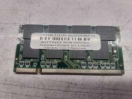 MEMORIAS RAM LAPTOP DDR1