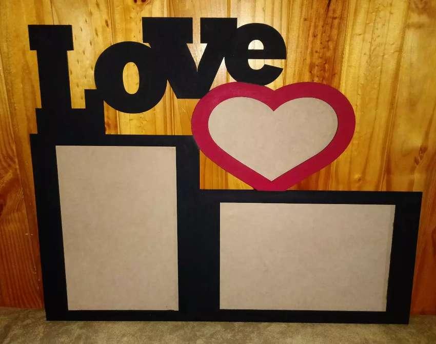 Cuadros para fotos love 0