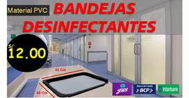 BANDEJAS DESINFECTANTES