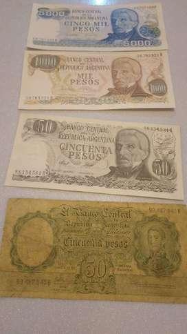 BILLESTES ARGENTINOS