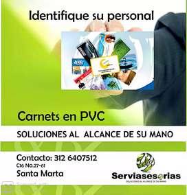 Carnets de identificacion y seguridad