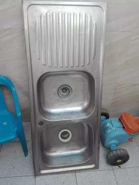 Lavaplatos doble usado