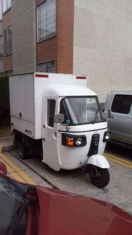 Motocarro para apoyo de rutas y transporte de mercancía