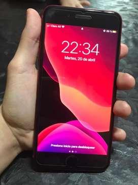 Vendo iphone 8plus product red 64 gb