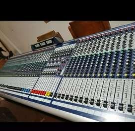Consola de sonido Profesional