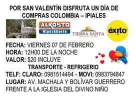 Viaje a Colombia - Ipiales por el día del amor y la amistad