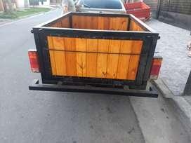 Vendo trailers reforzado