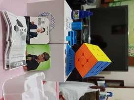 CUBO DE RUBIK MAGNETICO MOFANG JIAOSHI MF3M 3x3 SPEEDCUBE STICKERLESS