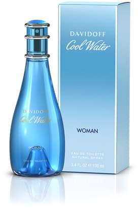 Perfume Cool Water de Davidoff para Dama 100ml ORIGINAL