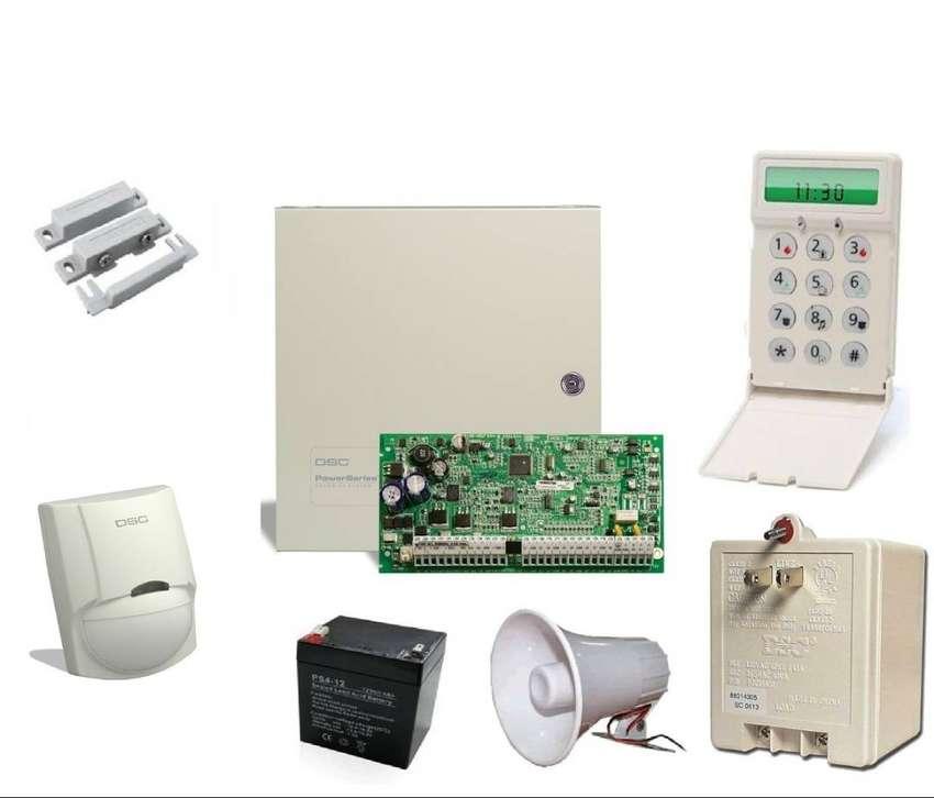 Kit Alarma Dsc 1832 8 Zonas Para Empresas Oficinas Casas 0